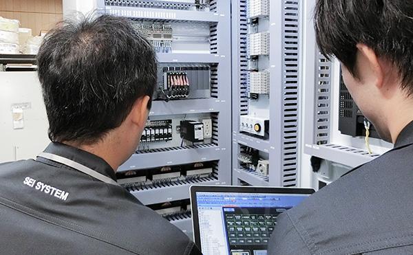 電気制御の業務イメージ